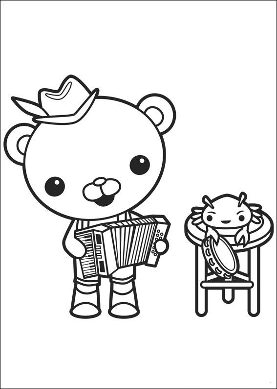 Octonauts coloring pages to download