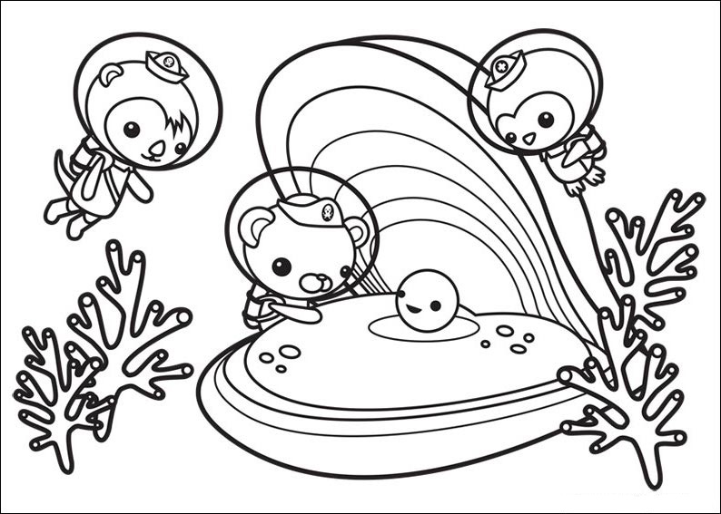 free octonauts coloring pages to print for kids download print and color - Octonauts Coloring Pages Print