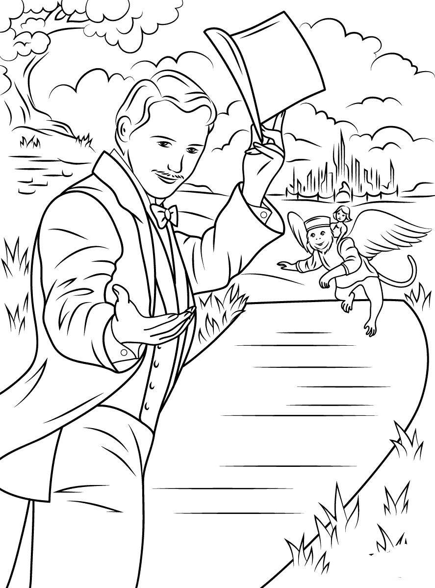 Kleurplaten Rapunzel Film The Wizard Of Oz Coloring Pages To Download And Print For Free