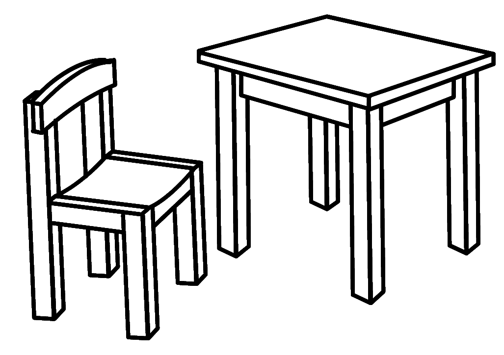 egyptian furniture coloring pages - photo#6