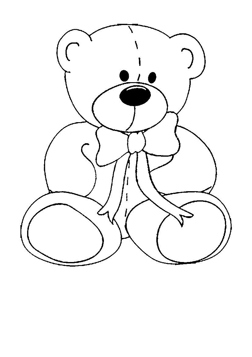 Bear coloring pages to download