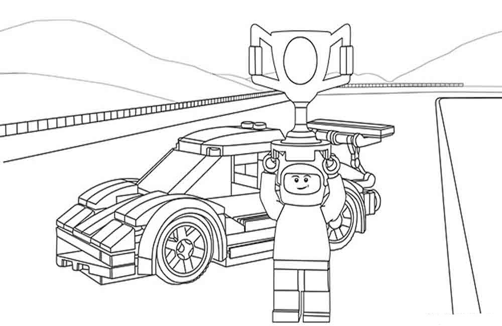 city police lego coloring pages - photo#21