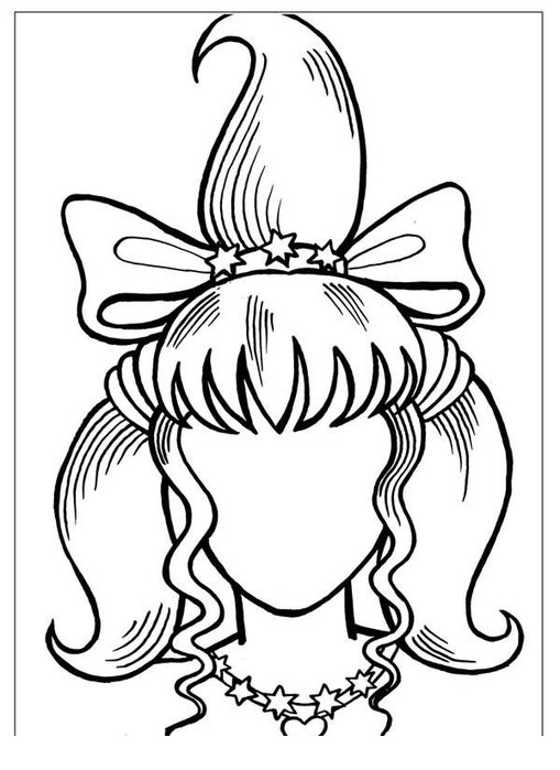 Mother Portrait Coloring Pages To Print For Free