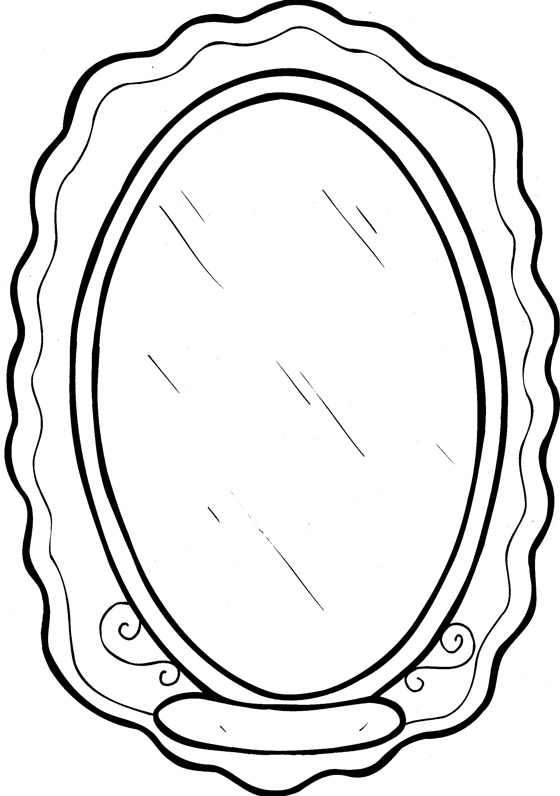Mirror images coloring pages ~ Mirror coloring pages to download and print for free
