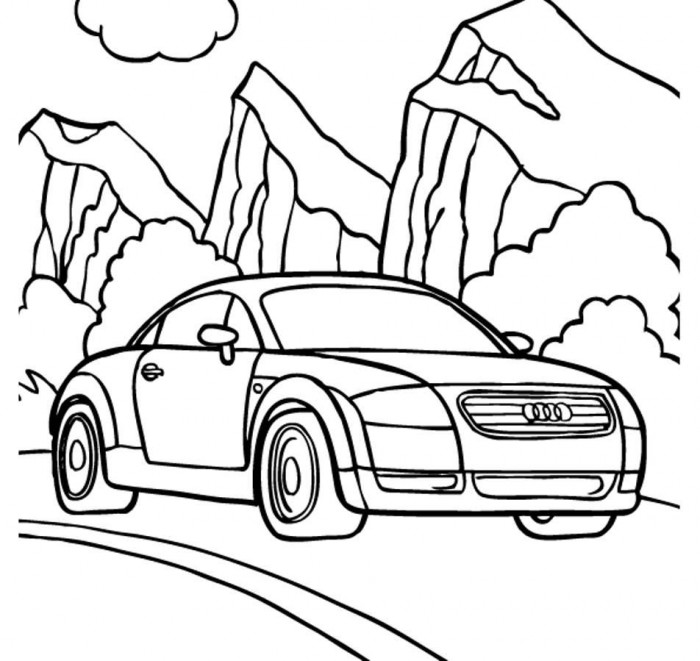 Coloring racing audi r8 coloring pages for Audi r8 coloring pages