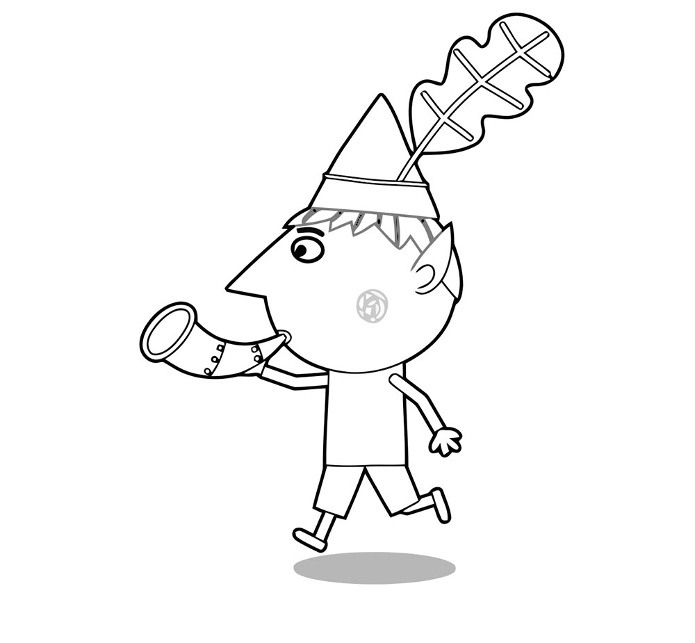 Little Kingdom Ben And Holly S Coloring Pages To Download