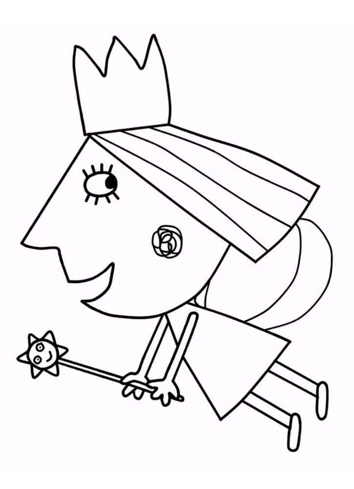 Ben & Holly's Little Kingdom Free Coloring Pages for Kids ...