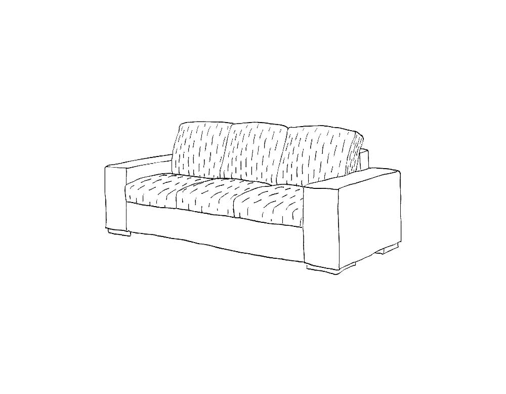 Sofa coloring pages to download