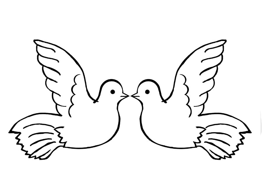 Dove Of Peace Coloring Pages To Download And Print For Free