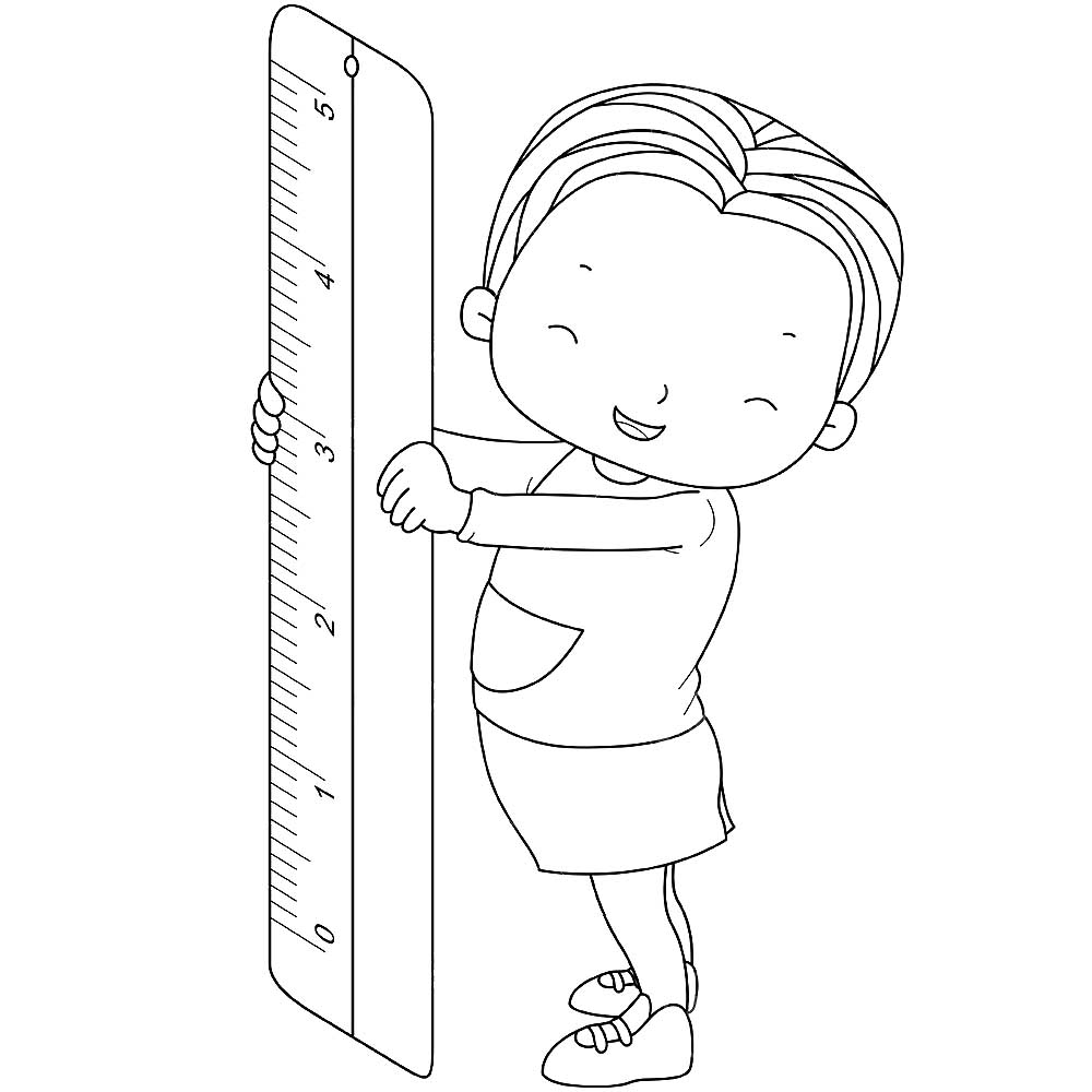 coloring pages ruler - photo#30