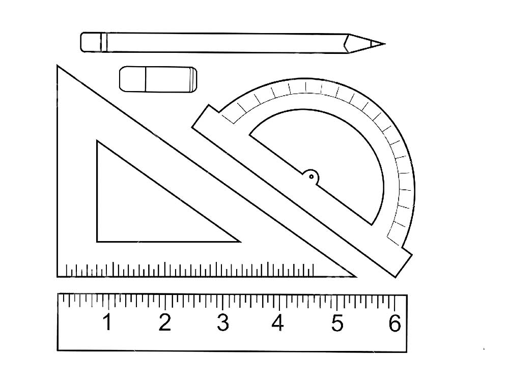 coloring pages ruler - photo#21