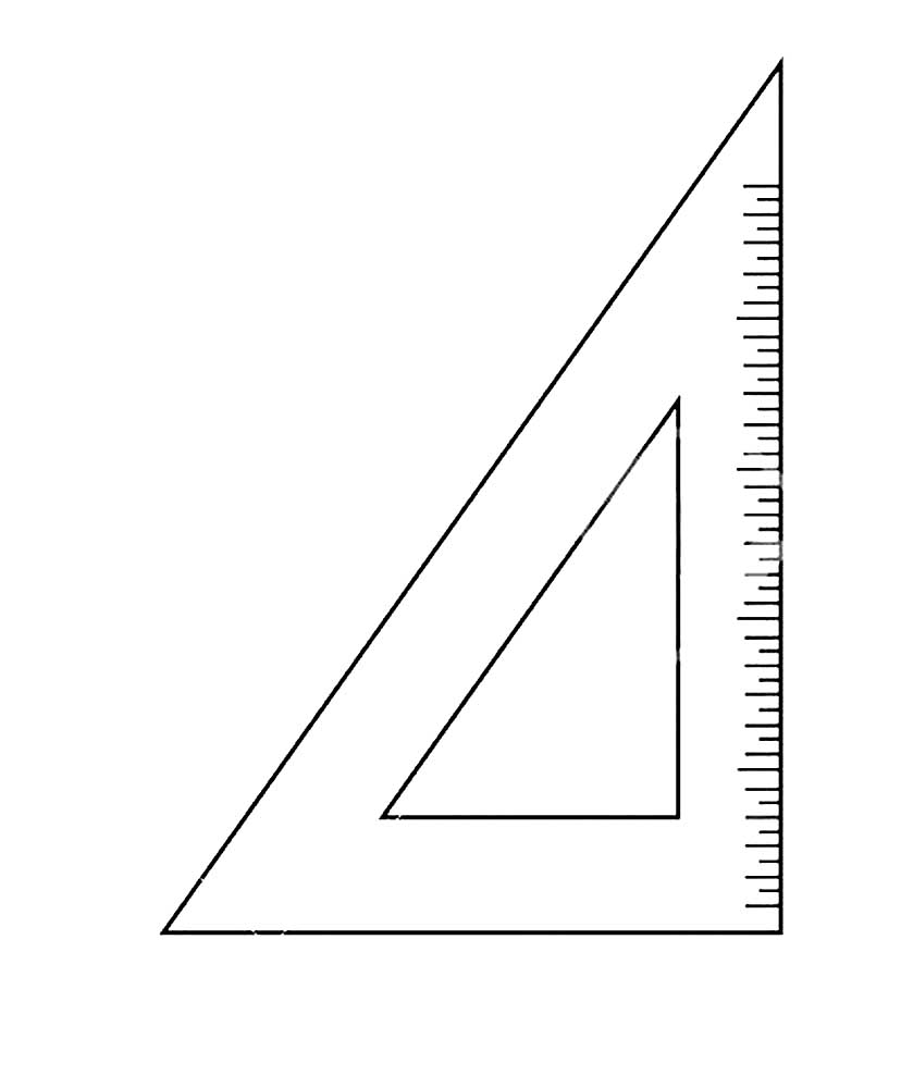 Ruler coloring pages to download