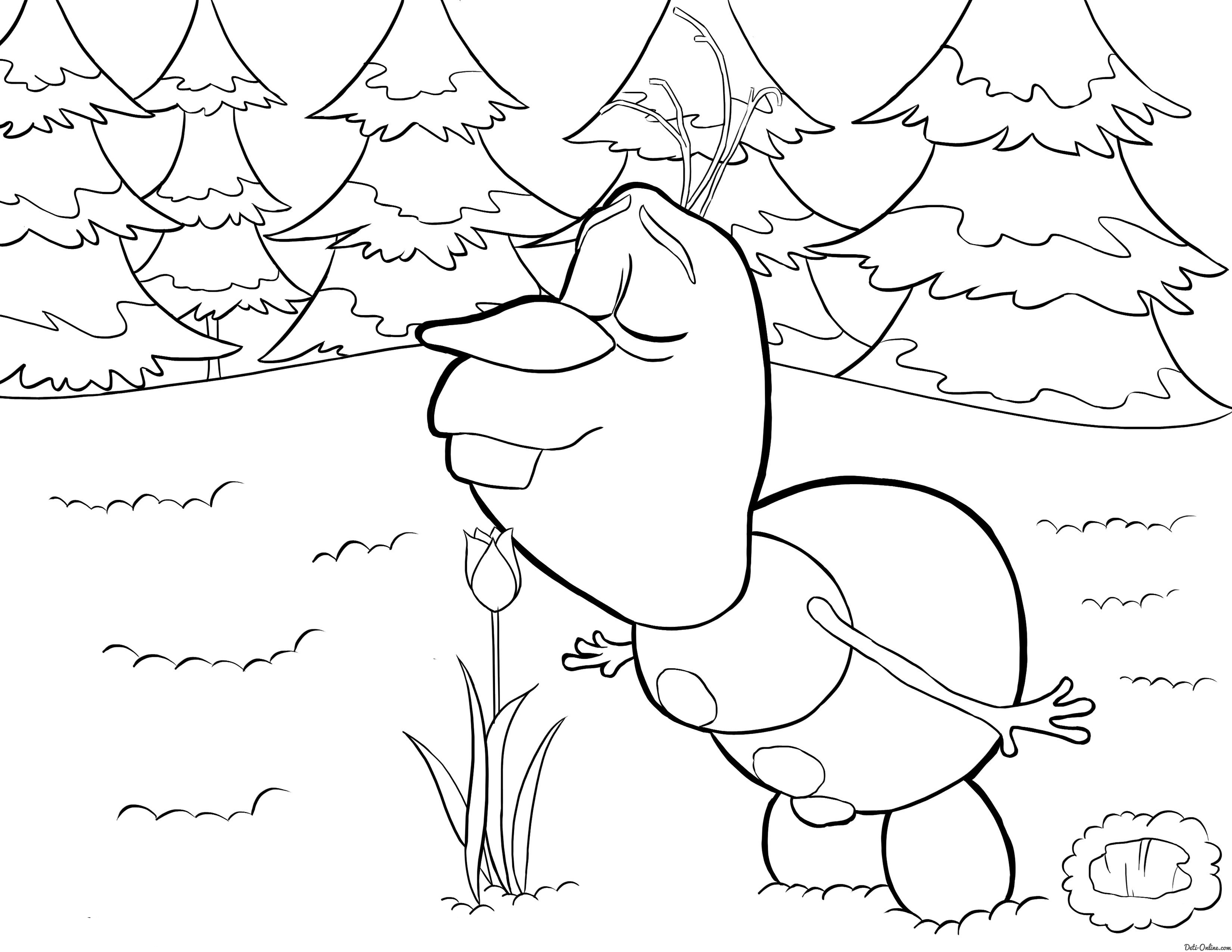 Amazing Frozen Coloring Pages Ideas