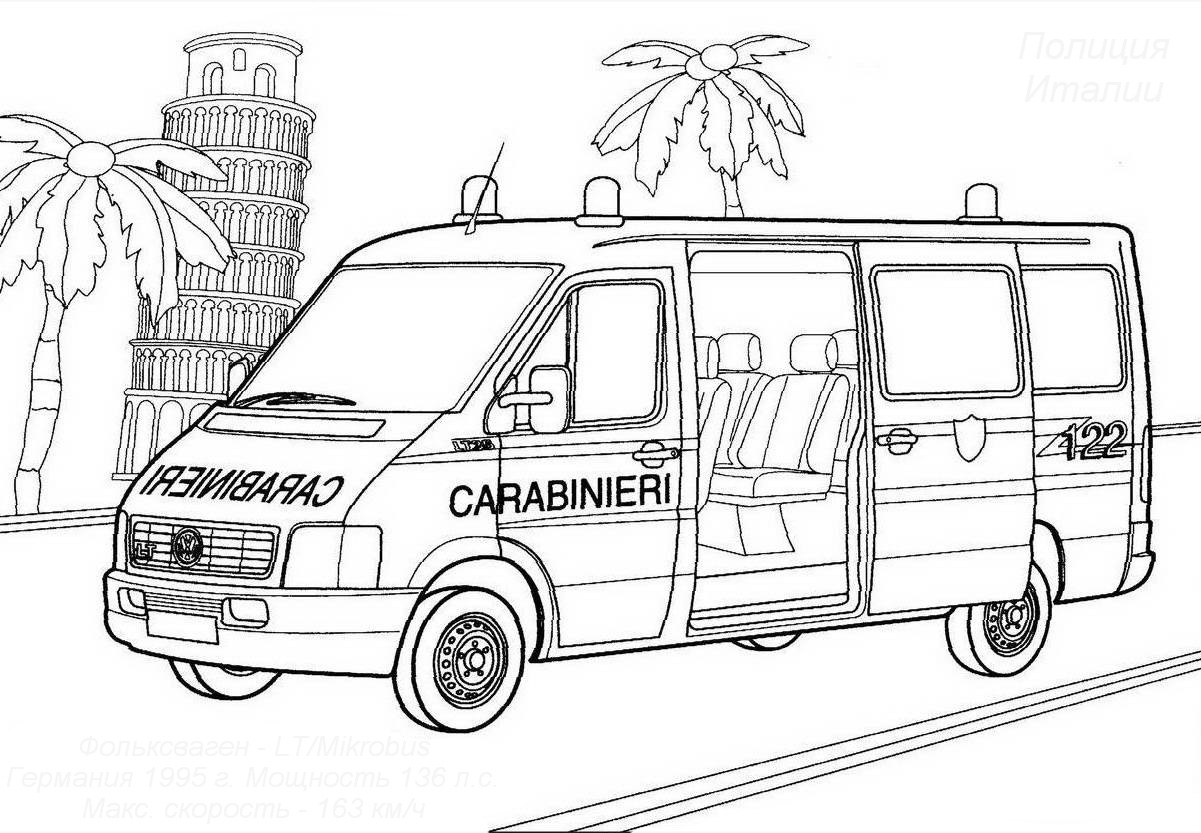Volkswagen coloring pages to download
