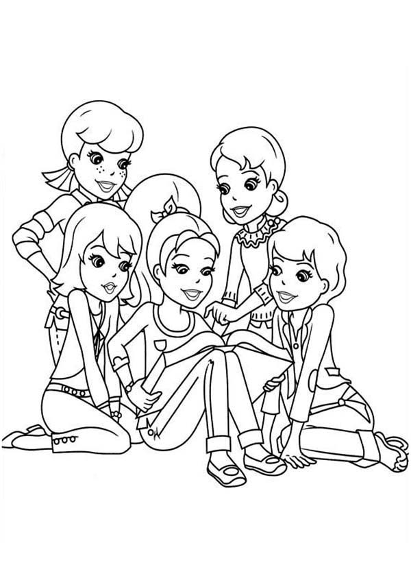 Polly Pocket Coloring Pages To Download And Print For Free