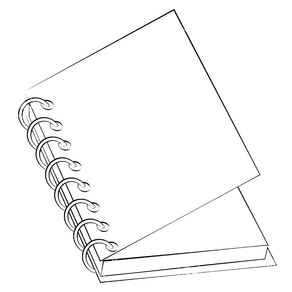 the notebook coloring pages - photo#16