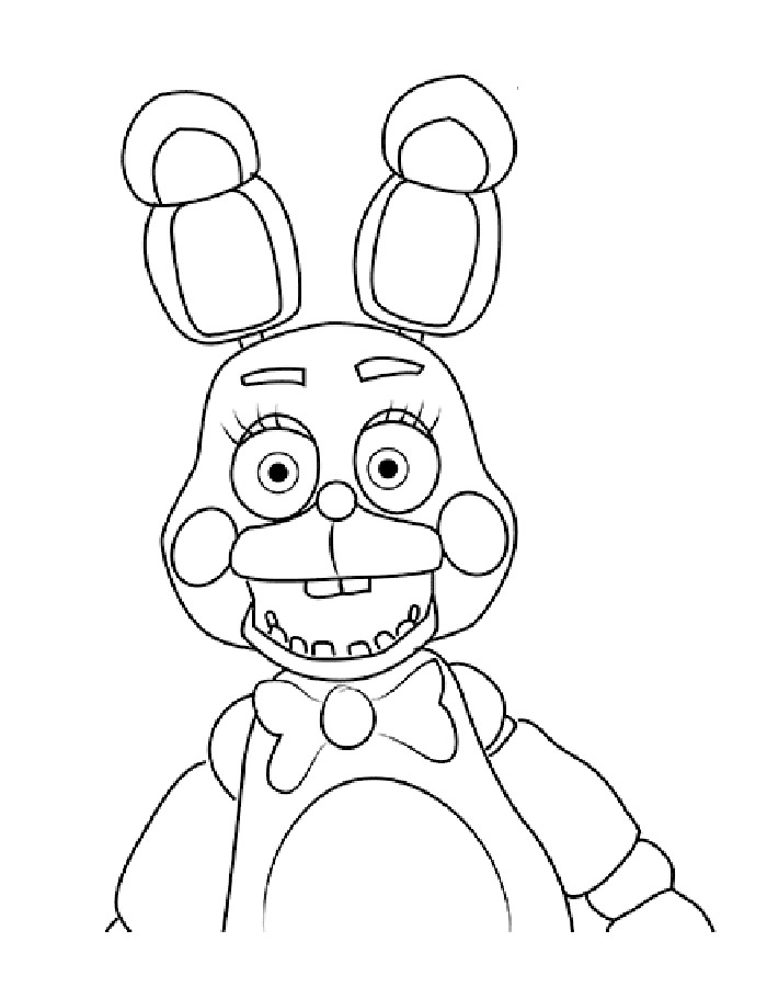 Five Nights at Freddy's coloring pages to download and ...