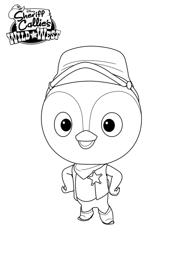 wild wild west coloring pages - photo#35