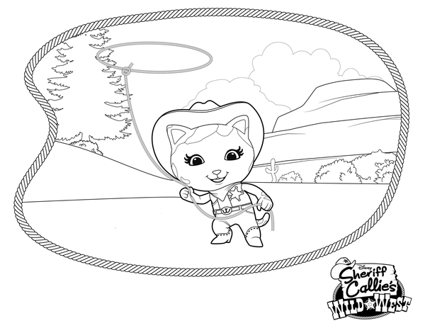 wild wild west coloring pages - photo#11