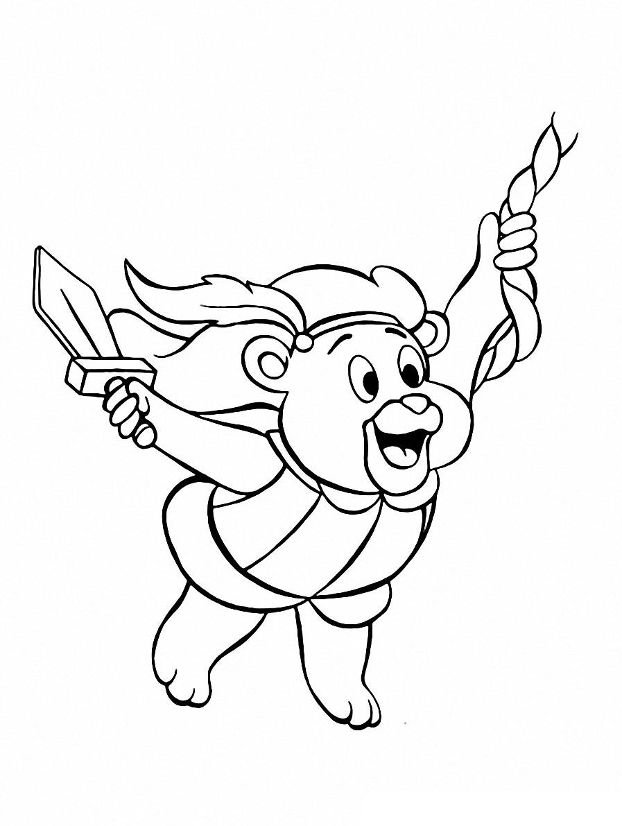Adventures of the Gummi Bears coloring