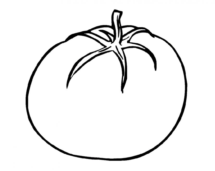 Tomatoes coloring pages to download