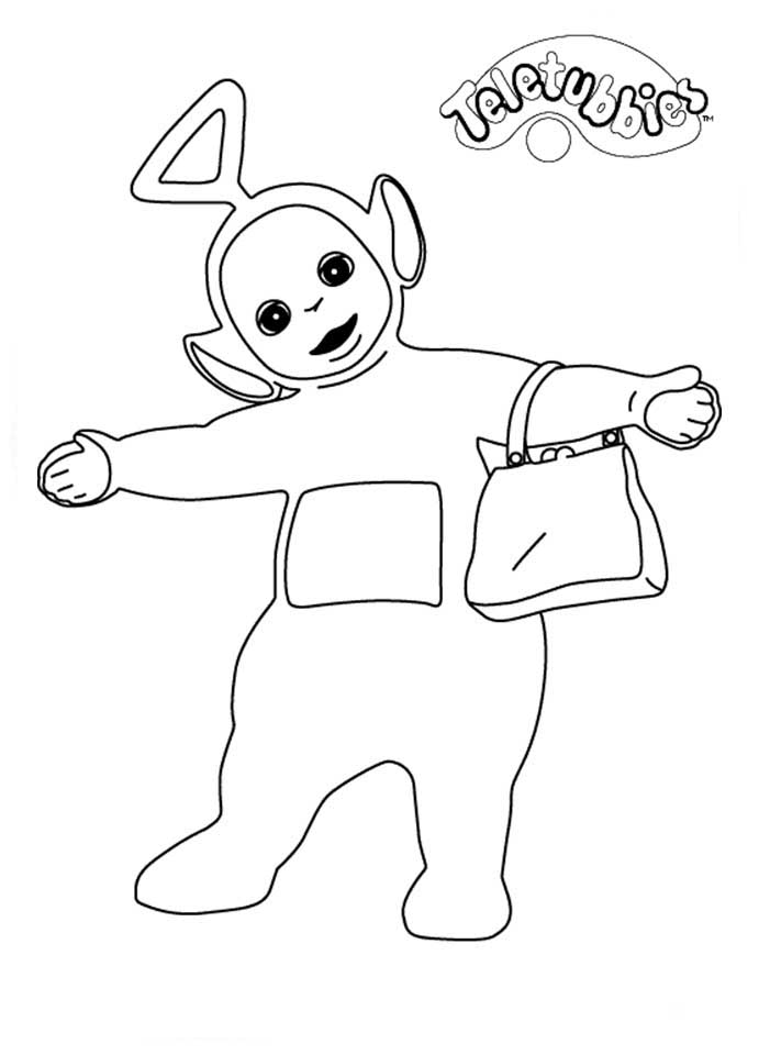 Teletubbies Coloring Pages To Download And Print For Free
