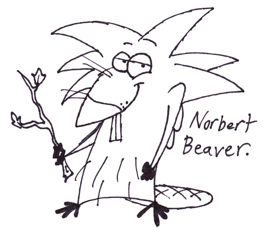The Angry Beavers Coloring Pages To Download And Print For