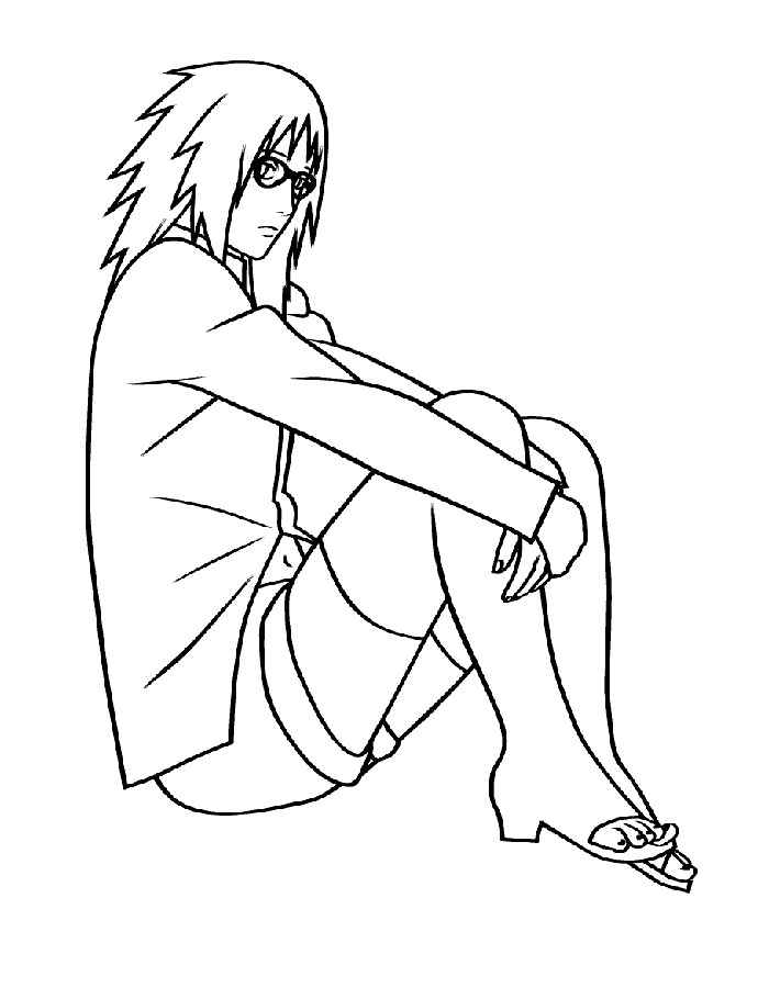 Anime Coloring Pages To Download And Print For Free