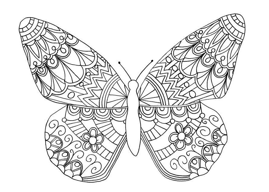 Coloring Pages Anti Stress For Children To Download And