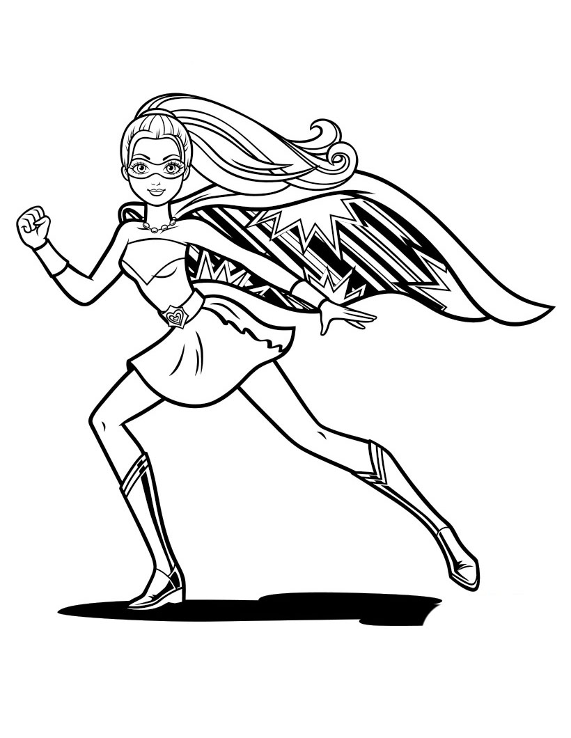 Barbie in Princess Power coloring pages to download and ...
