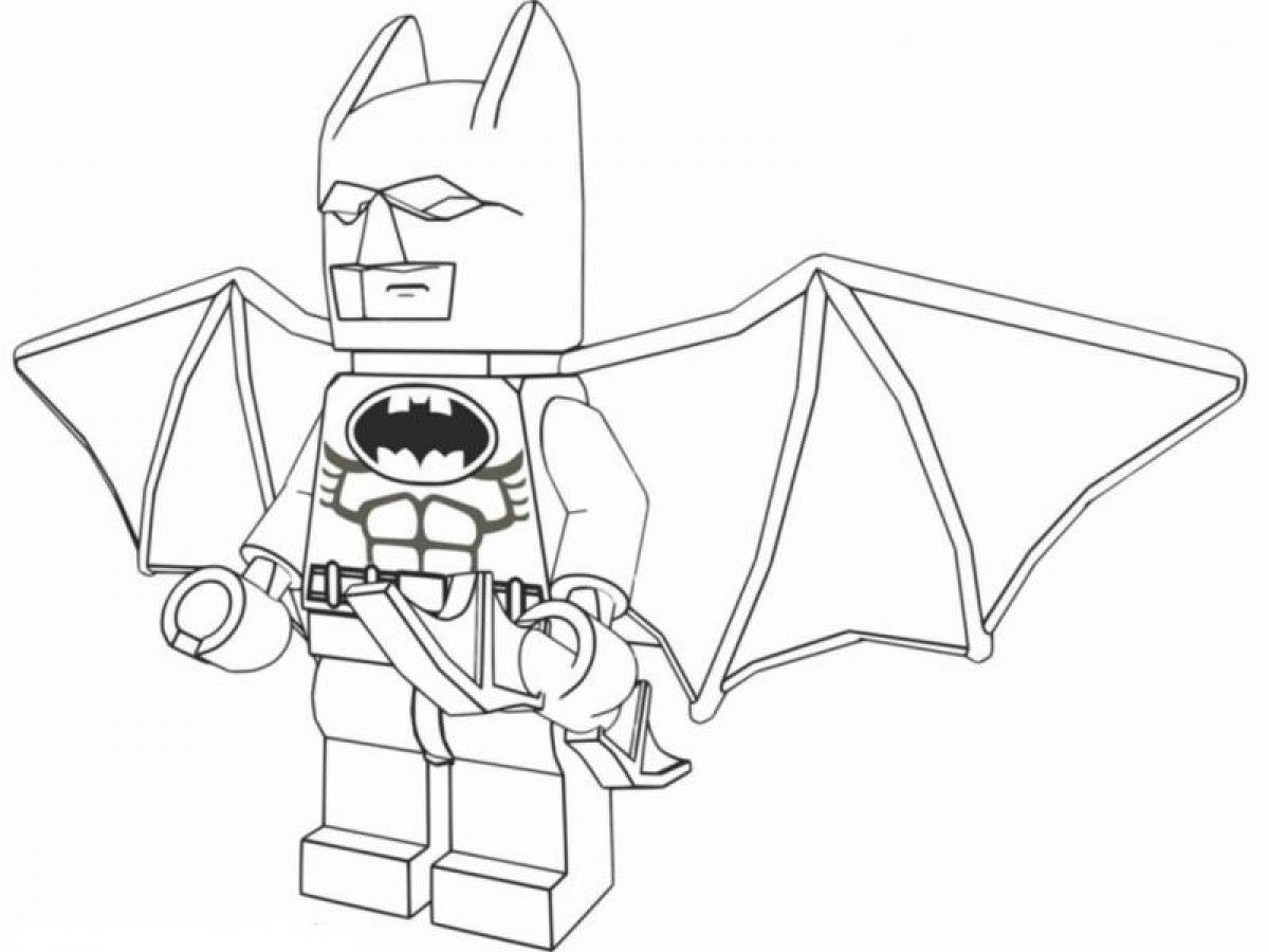 LEGO Coloring Pages With Characters: Chima, Ninjago, City