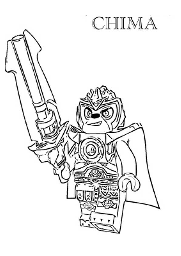 lego chima coloring pages - photo#1