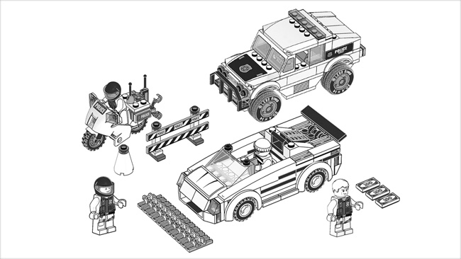 city police lego coloring pages - photo#35