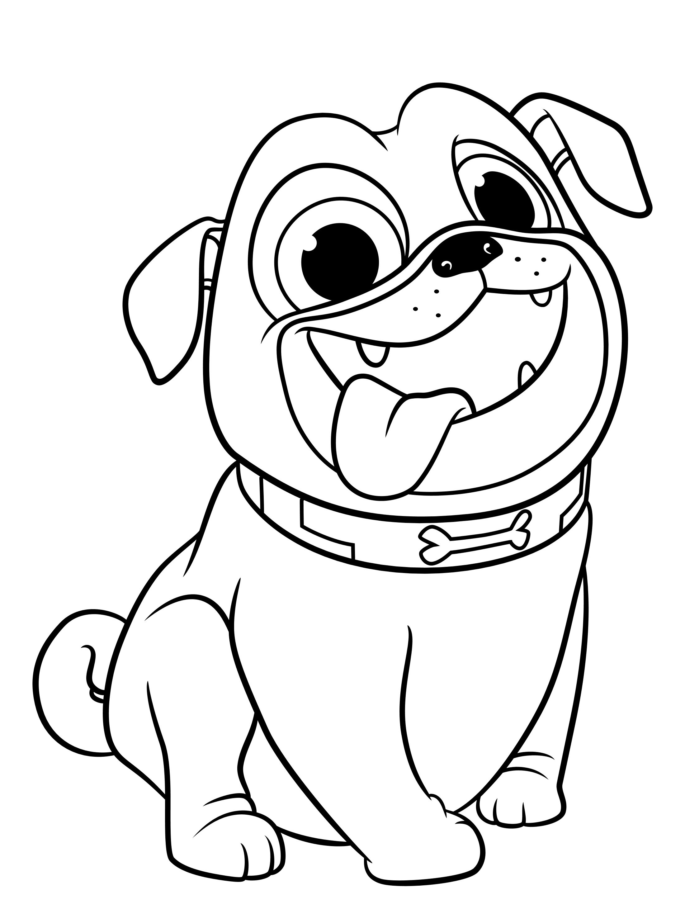 Puppy Dog Pals coloring pages to download and print for free