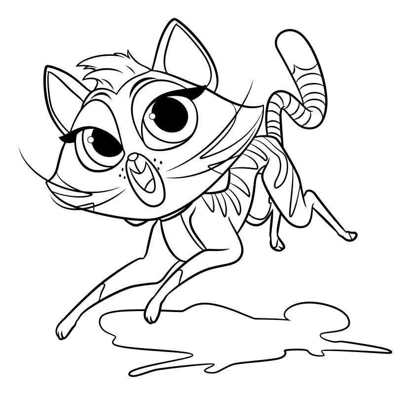 Puppy pals coloring pages ~ Puppy Dog Pals coloring pages to download and print for free