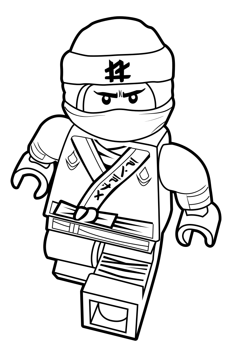 100 Lego Ninjago Coloring Pages Print