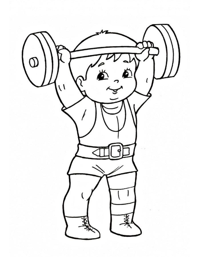 live healthy coloring pages - photo#10