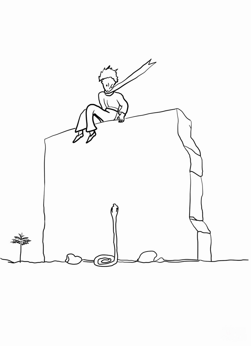 Le Petit Prince coloring pages