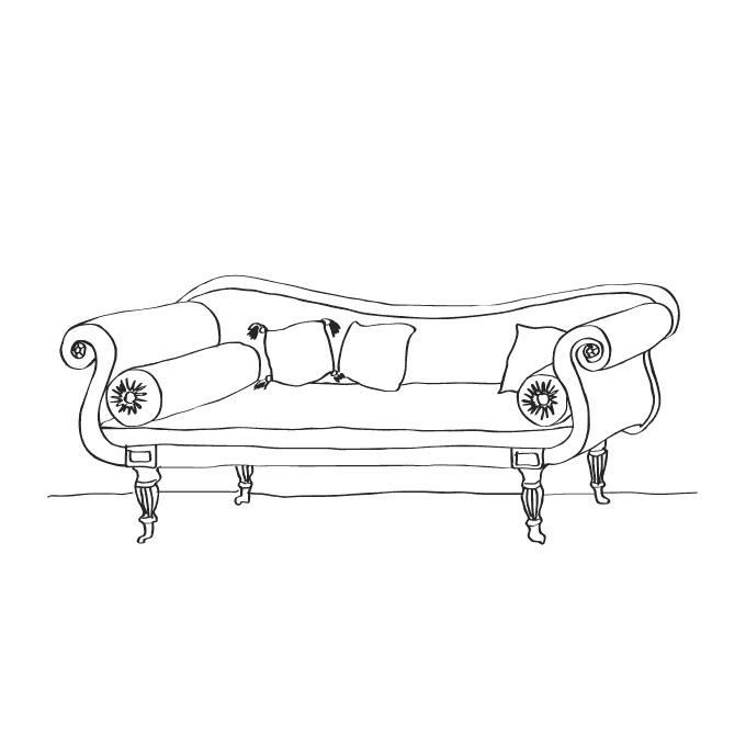 free coloring pages furniture - photo#24