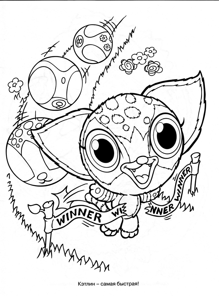 Zoobles coloring pages for kids ~ Zoobles coloring pages to download and print for free