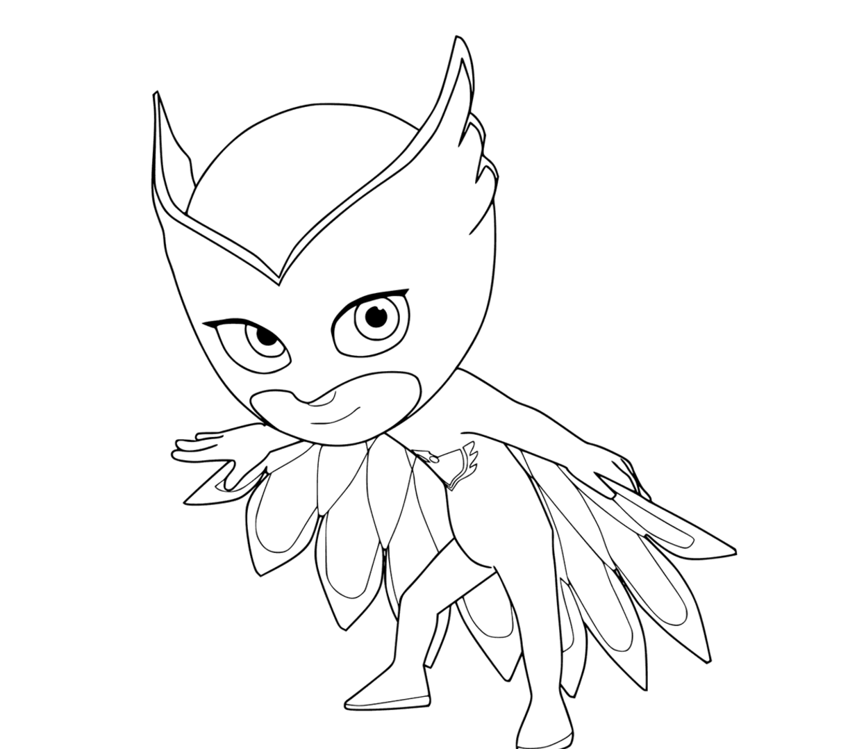 Pj masks coloring pages to download and print for free for Coloring pages masks