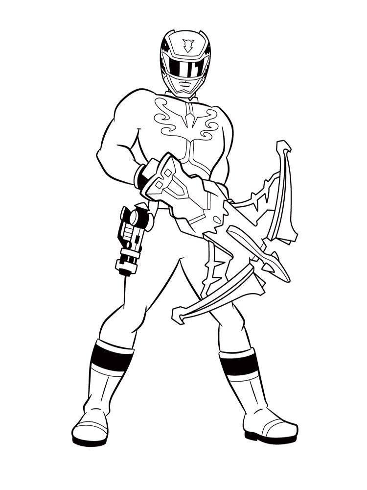 Power Rangers Samurai coloring pages for boys to print for ...