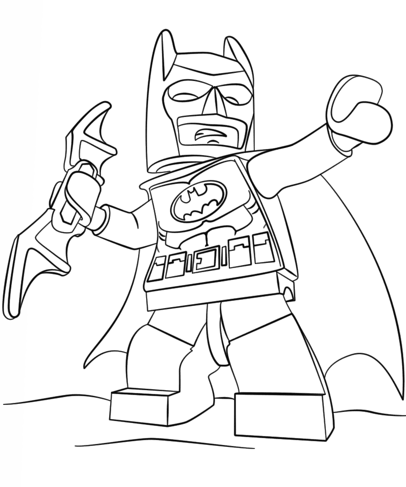 The Lego Batman Movie Coloring Pages to download and print ...