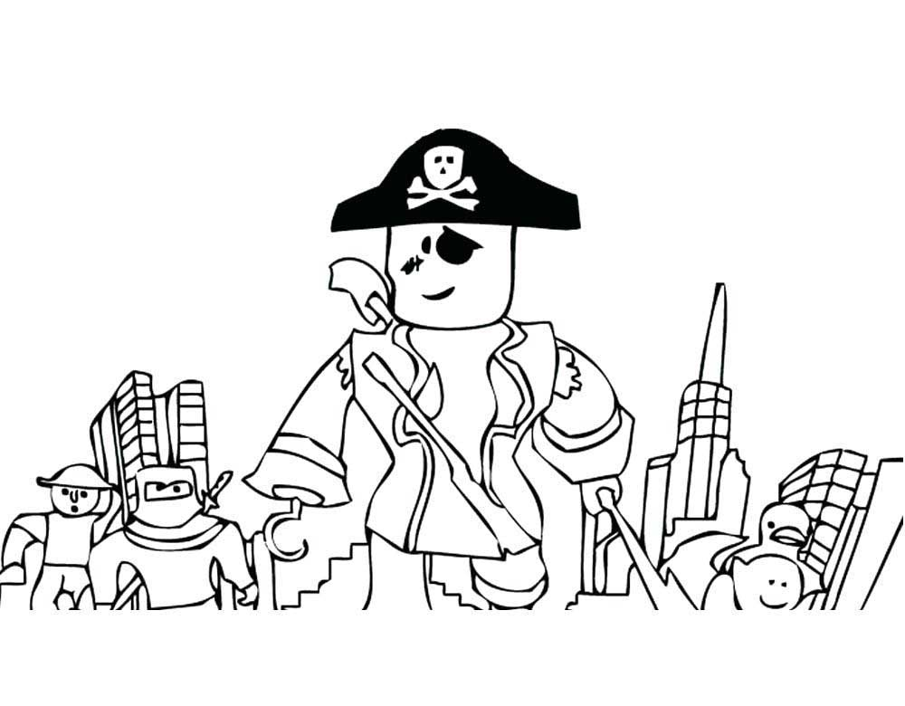 Roblox coloring pages to download and print for free