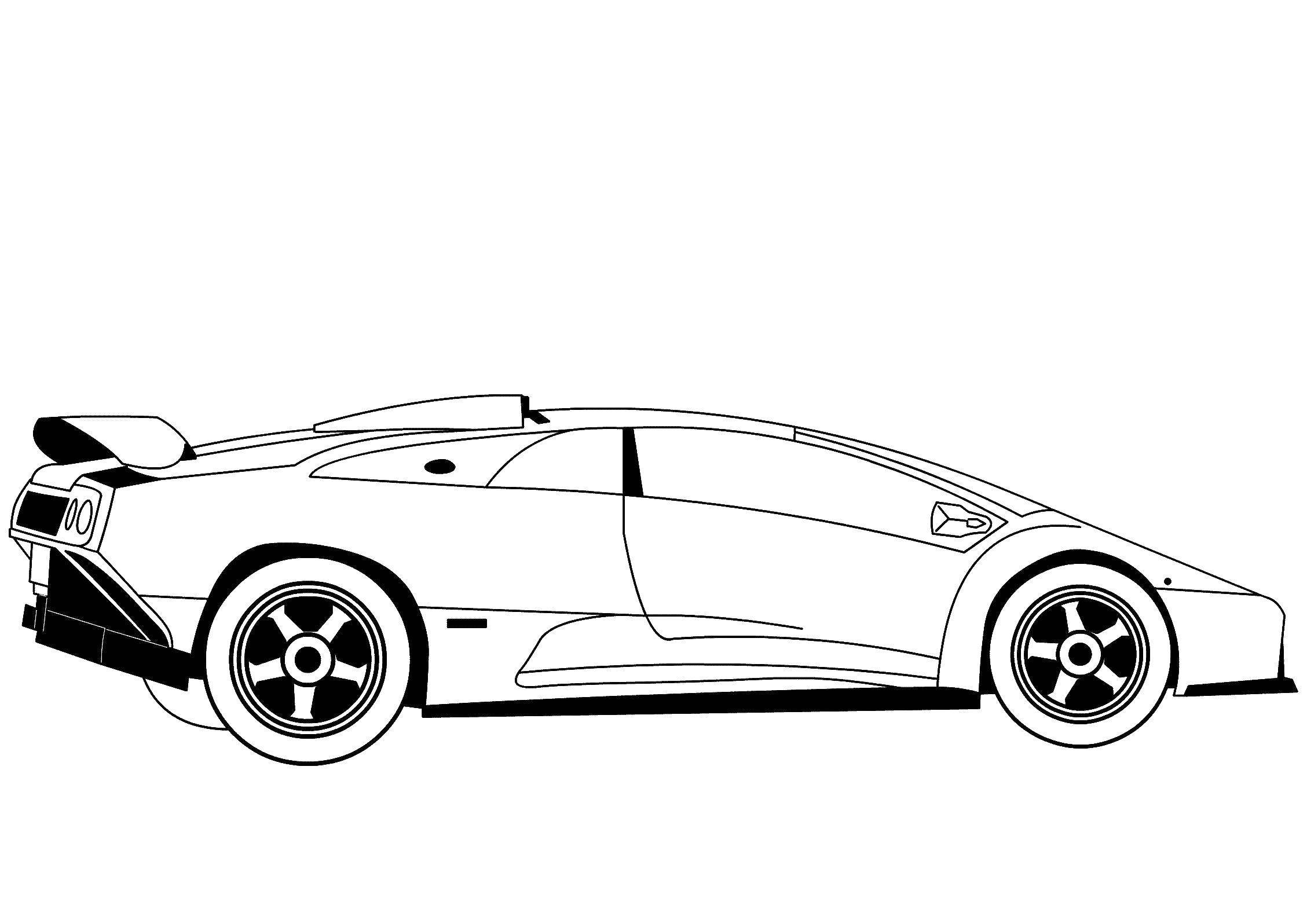 Lamborghini Coloring Pages to download and print for free