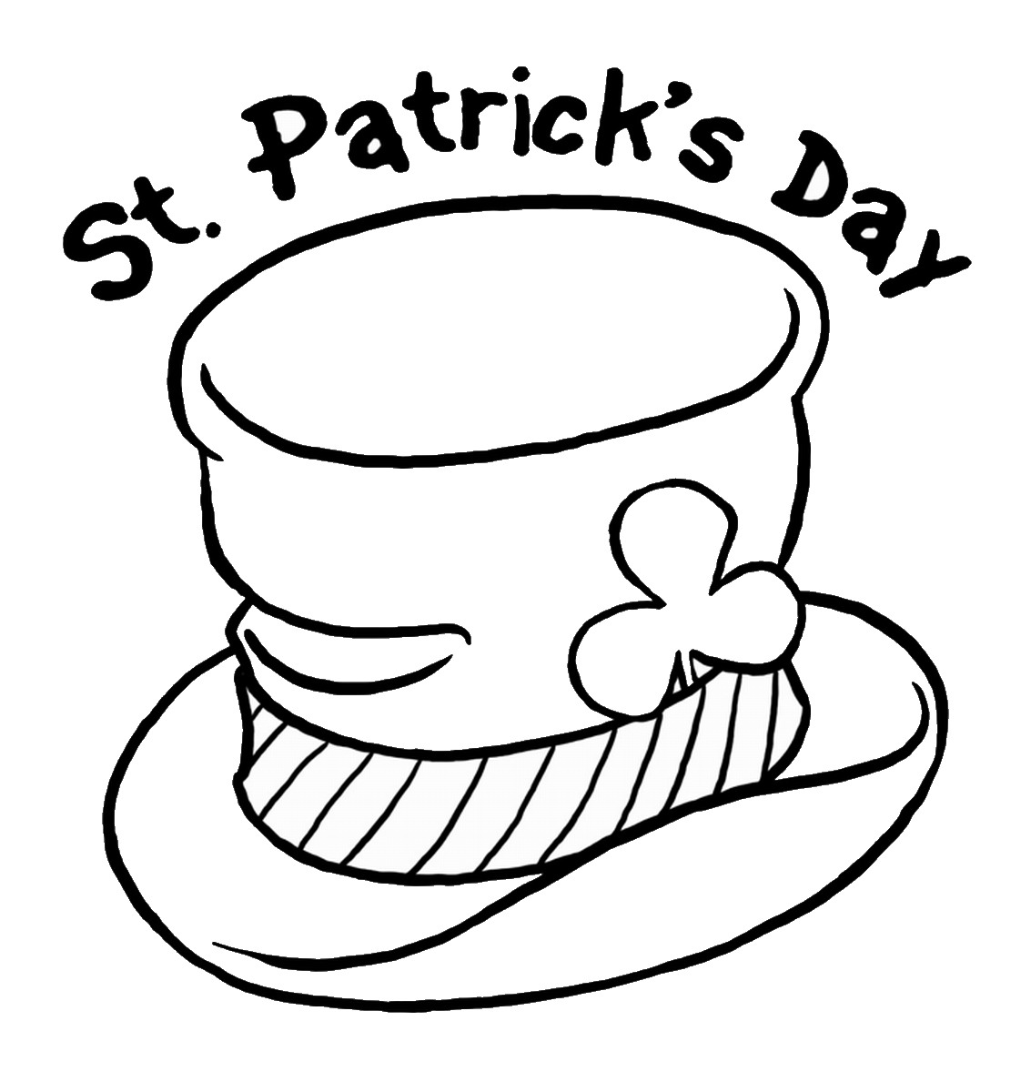 coloring pages st patrics day - photo#13