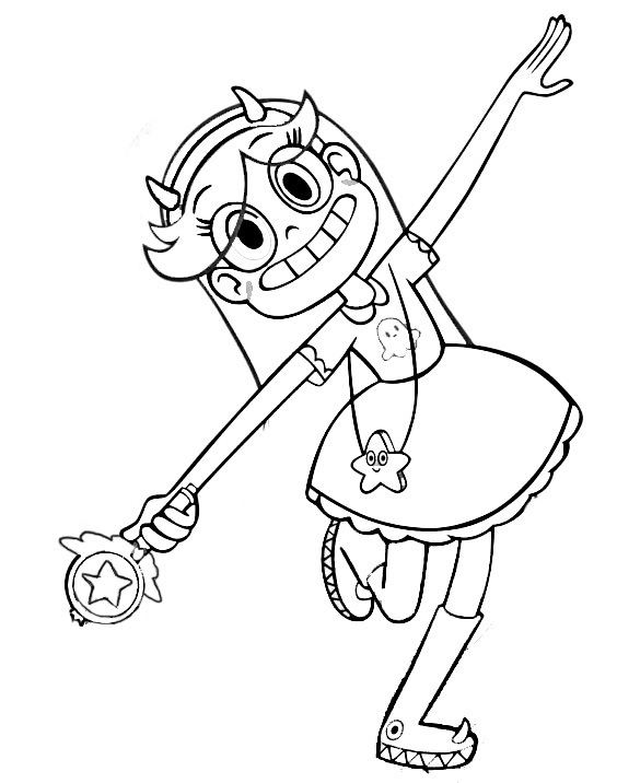 Star vs. the Forces of Evil coloring pages to download and print ...