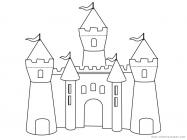 Castle coloring pages
