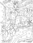 The snow queen coloring pages