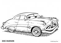 Doc hudson coloring pages